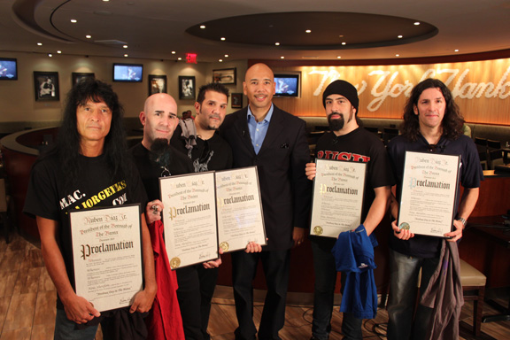 ANTHRAX DAY IN THE BRONX - September 14, 2011