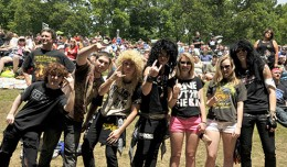M3 ROCK FEST CROWD  MAY 12 2012 PHOTO  FRANK WHITE  MERRIWEATHER POST PAVILION  COLUMBIA MARYLAND