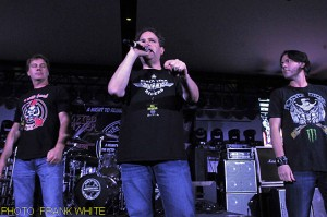 JIM FLORENTINE,  EDDIE TRUNK AND DON JAMIESON,  MAY 11 2013, PHOTO  FRANK WHITE, at  ENCORE EVENT CENTER FREEHOLD, NEW JERSEY