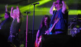 TWISTED SISTER WITH SNAKE SABO OF SKID ROW  MAY 11 2013 PHOTO FRANK WHITE  ENCORE EVENT CENTER FREEHOLD NEW JERSEY (1)
