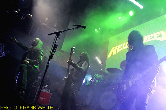 HELLOWEEN  SEPT 24 2013  PHOTO  FRANK WHITE  STAGE 48  NEW YORK CITY (10)