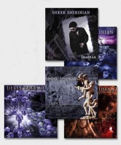 Derek-Sherinian-albums