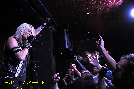 DORO  OCT 23 2014 PHOTO FRANK WHITE  THE LEGENDARY DOBBS  PHILADELPHIA PA (28)